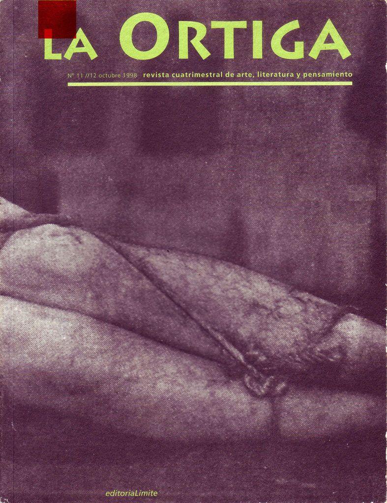 Imagen Portada Revista La Ortiga Nº 11-12