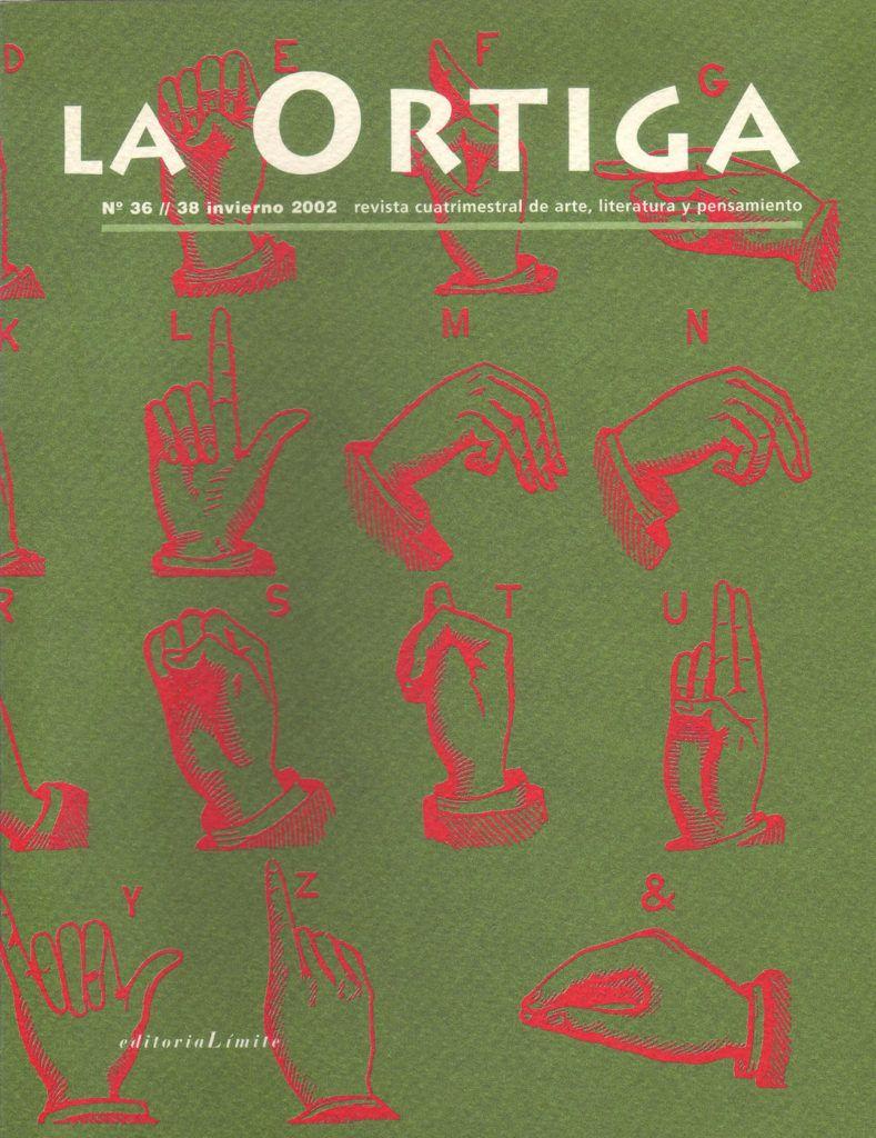 Imagen Portada Revista La Ortiga Nº 36-38