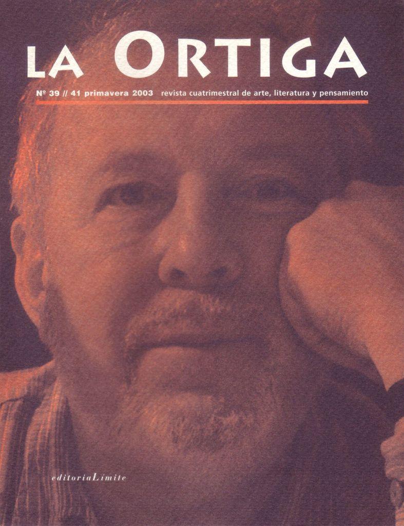 Imagen Portada Revista La Ortiga Nº 39-41