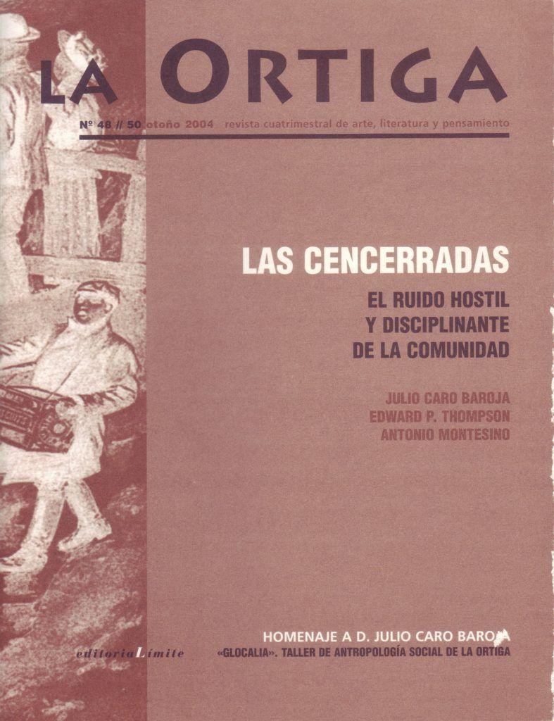 Imagen Portada Revista La Ortiga Nº 48-50