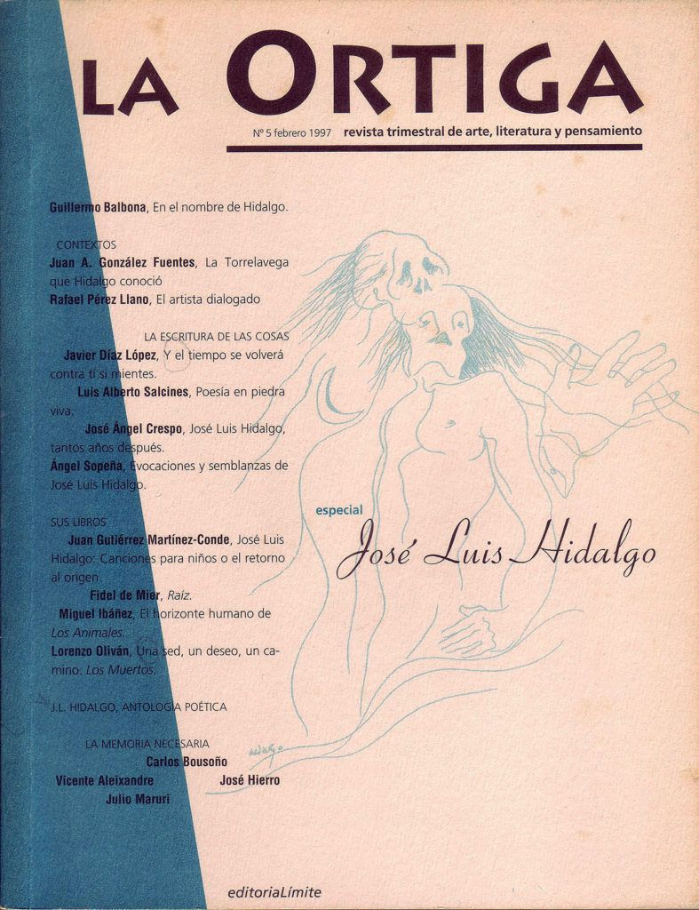 Imagen Portada Revista La Ortiga Nº 5