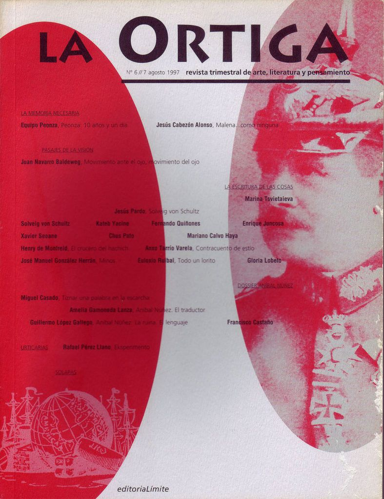 Imagen Portada Revista La Ortiga Nº 6-7