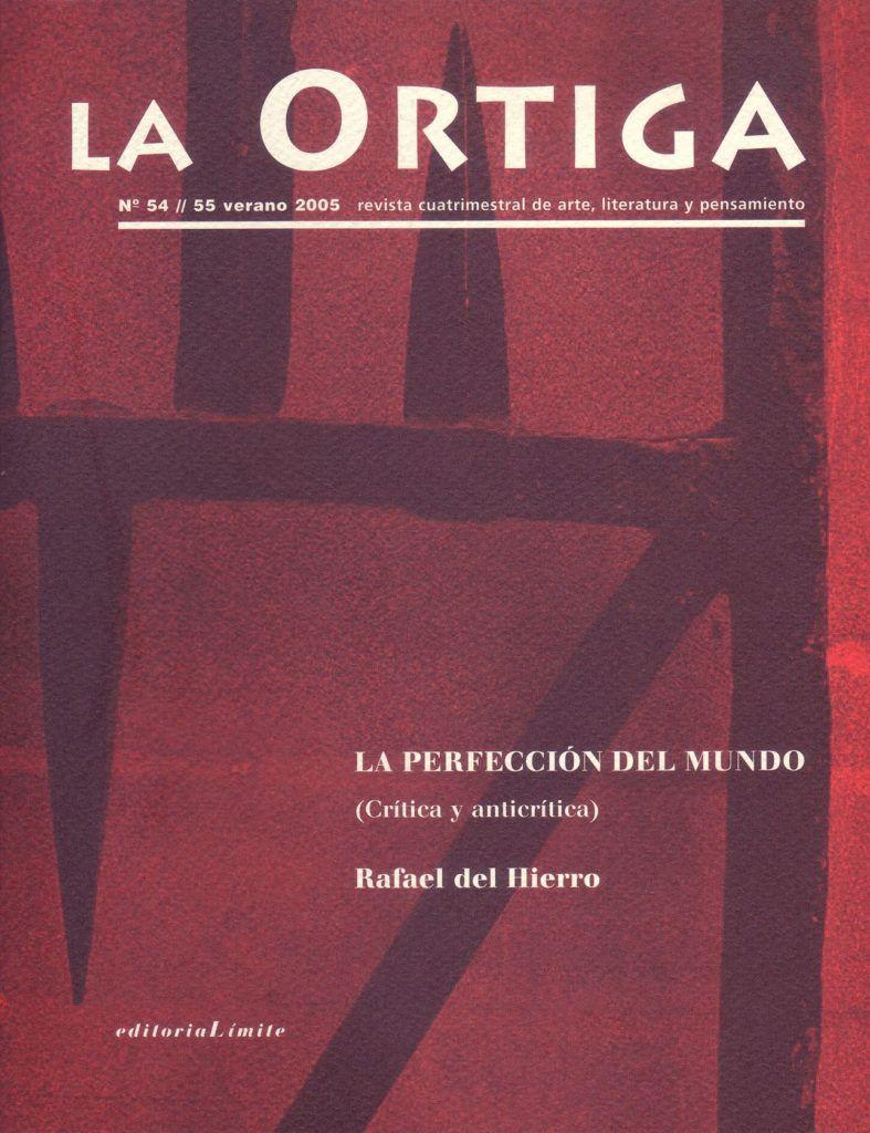 Imagen Portada Revista La Ortiga Nº 54-55