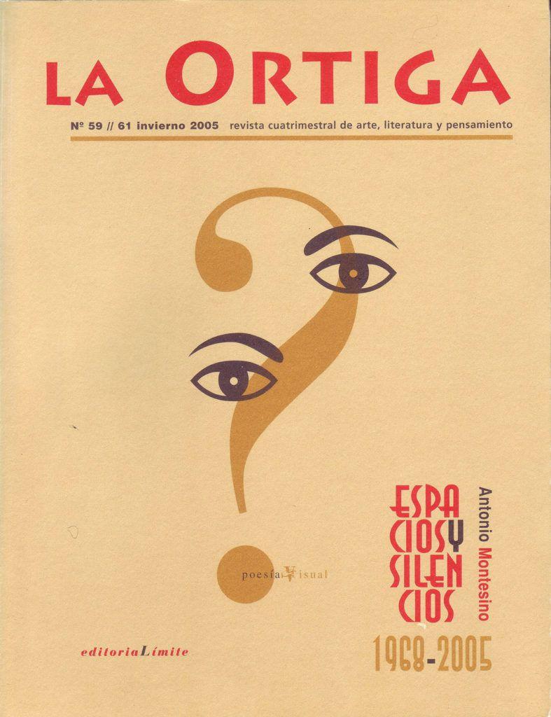 Imagen Portada Revista La Ortiga Nº 59-61