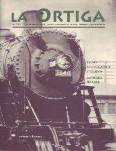 Imagen Portada Revista La Ortiga Nº 71-72