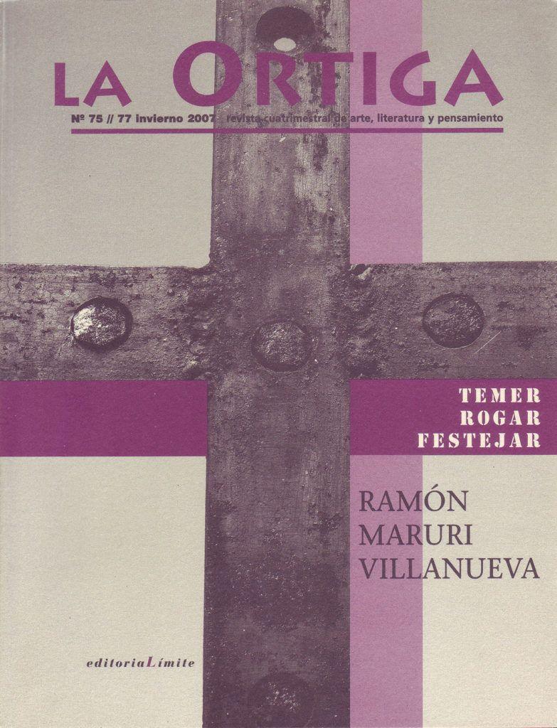 Imagen Portada Revista La Ortiga Nº 75-77