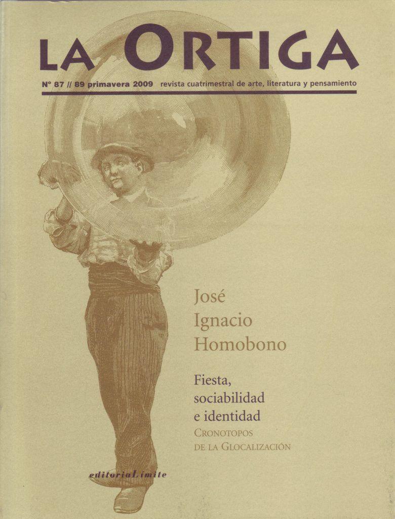Imagen Portada Revista La Ortiga Nº 87-89