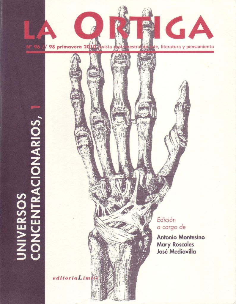 Imagen Portada Revista La Ortiga Nº 96-98
